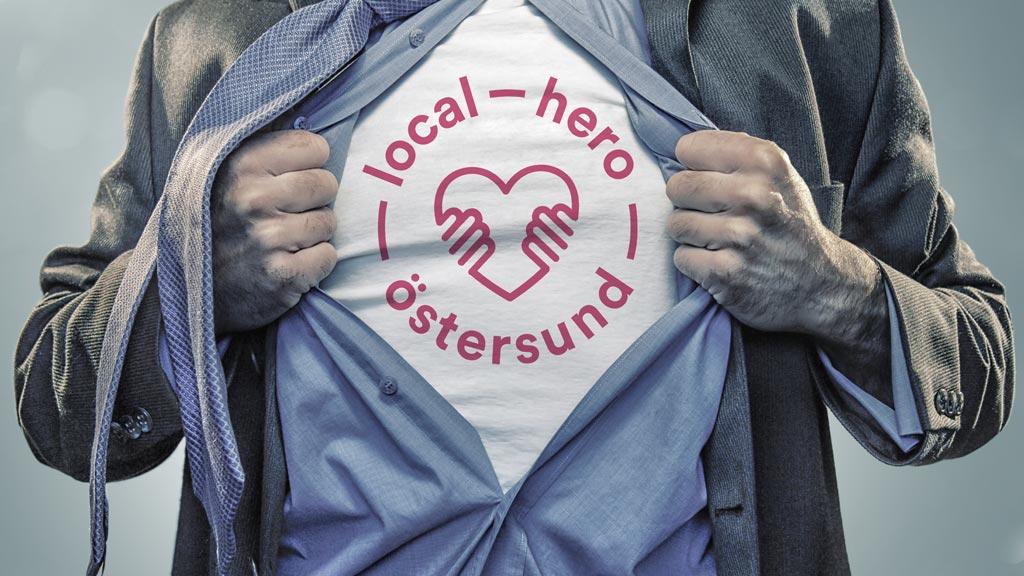 Tillsammans för city, Östersund, local hero